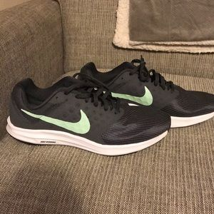 huge discount c4426 9e86d ... Nike Downshifter 7 steel grey  mint green SZ 9